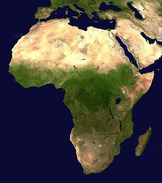 Africa_satellite_orthographic