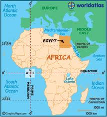 EgyptAfrica map