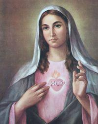 Mary-sacred-heart