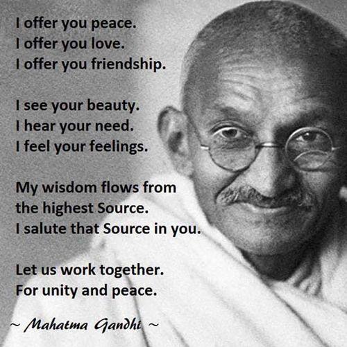 Gandhi-on-Peace