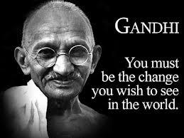 Gandhi Be the change
