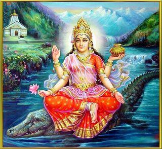 Ganga Goddess