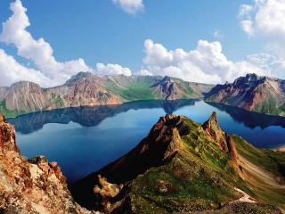 Paektu Heaven Lake